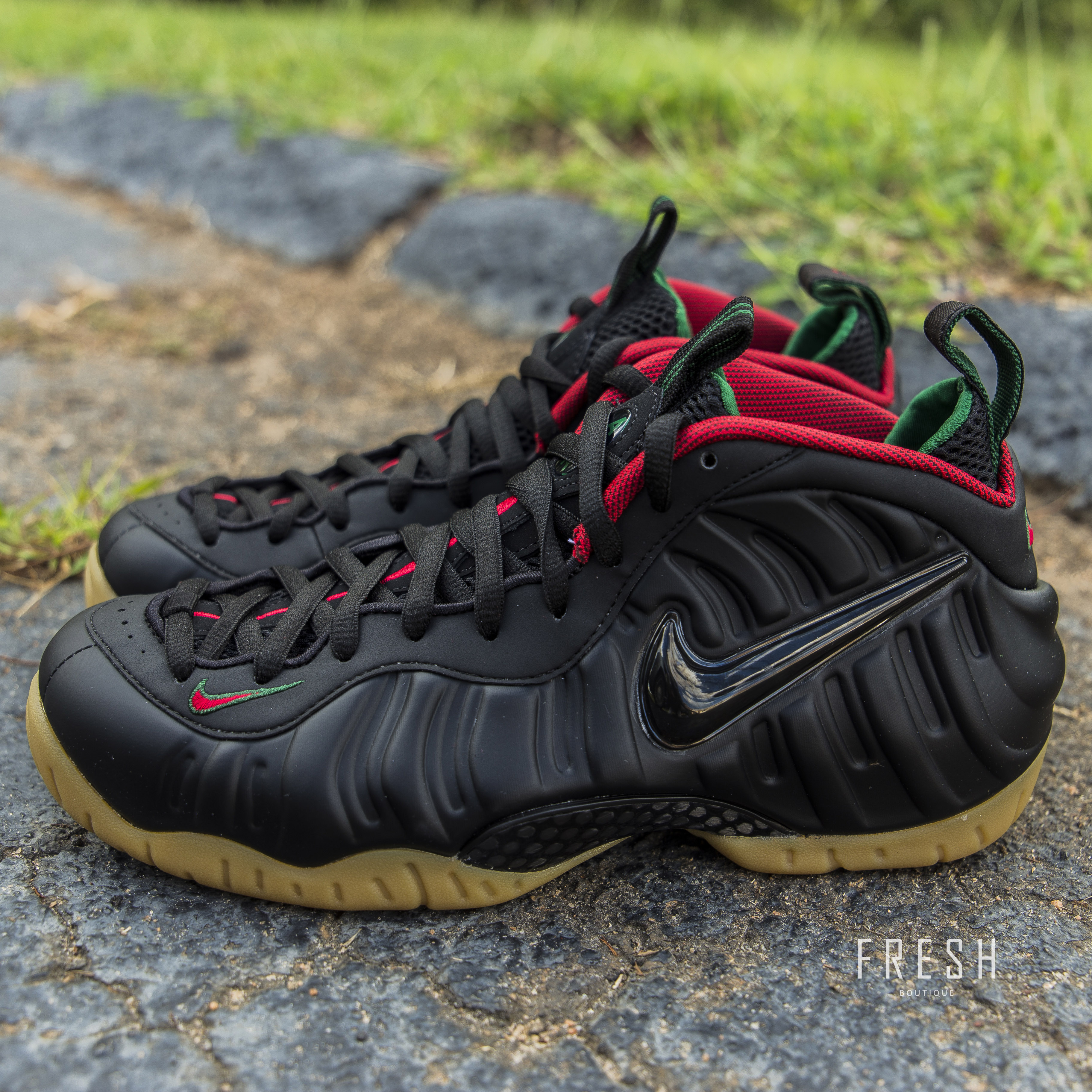 huge selection of ad65c de58a ... Air Foamposite Pro – Black/Gym Red/Green/Metallic Gold. Category:  Uncategorized ...