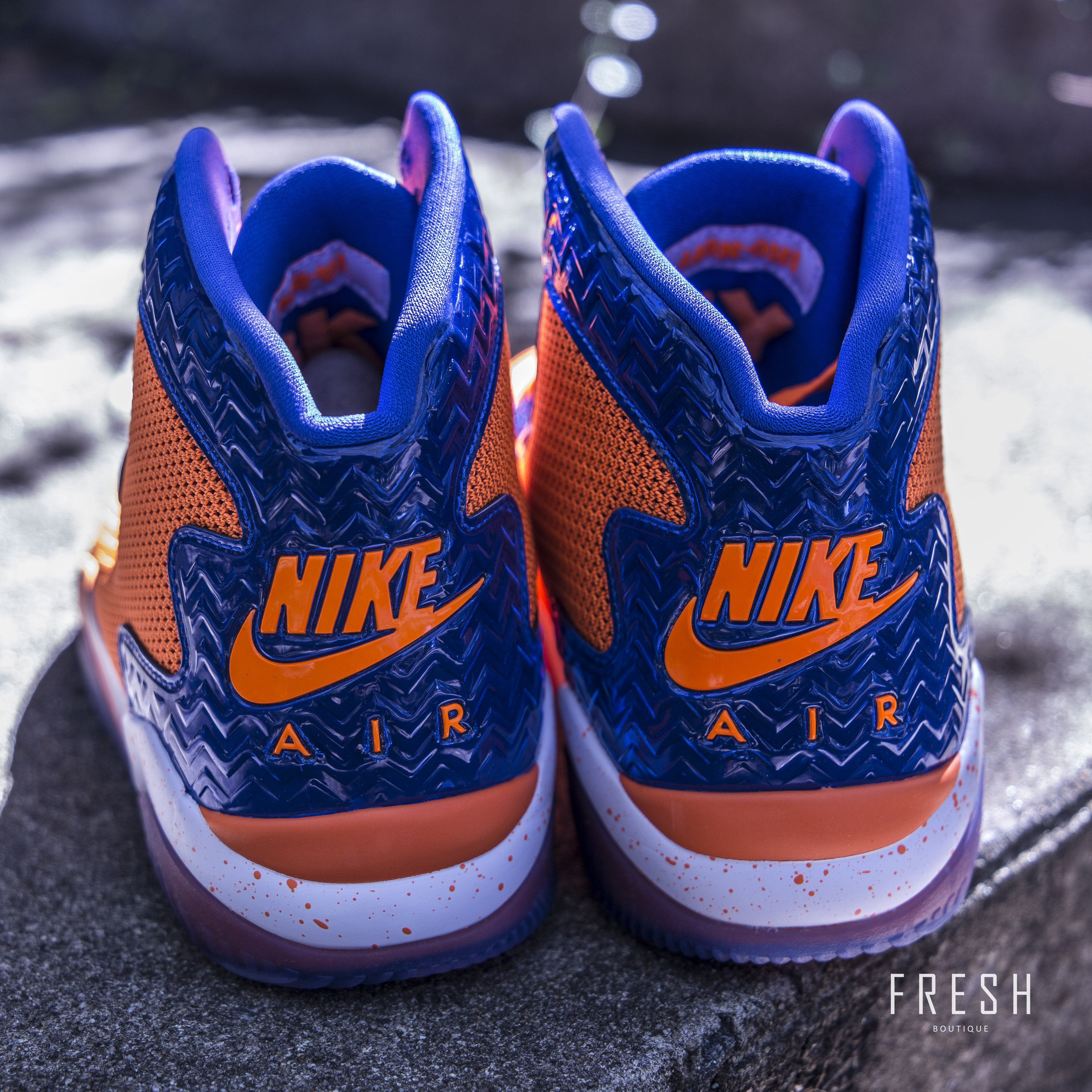 huge discount f5a08 0ab8a ... Air Jordan Spike Forty PE – Orange Game Royal White. Category   Uncategorized ...