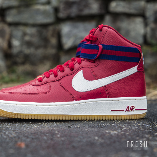 Air Force 1 High '07 Red 1