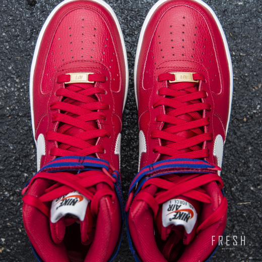 Air Force 1 High '07 Red 2