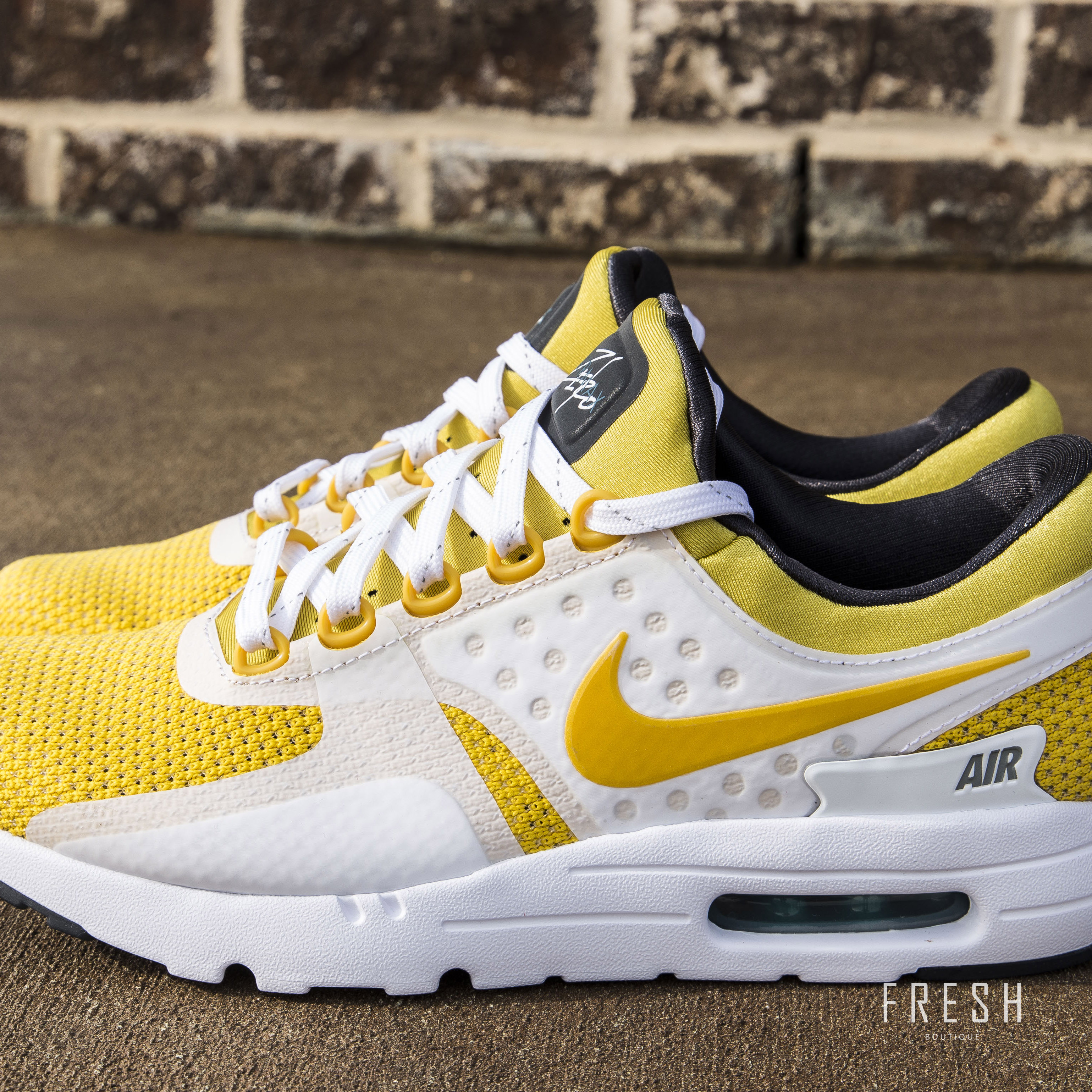 new product 93503 8256b Fresh Sneaker Boutique | Nike Air Max Zero QS - White/Sulfur ...
